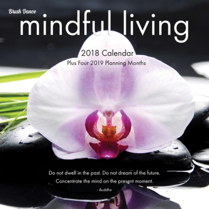 Mindful Living Wall Calendar