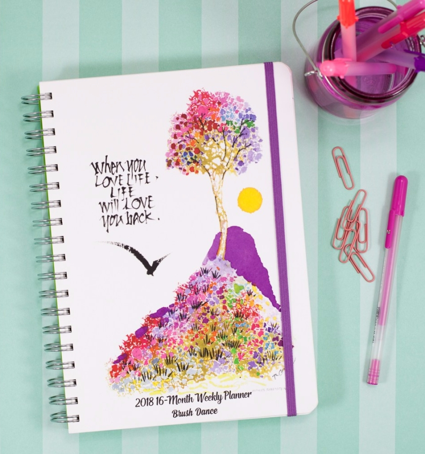 Brush Dance 2018 Karma Planner Live With Intention Cover